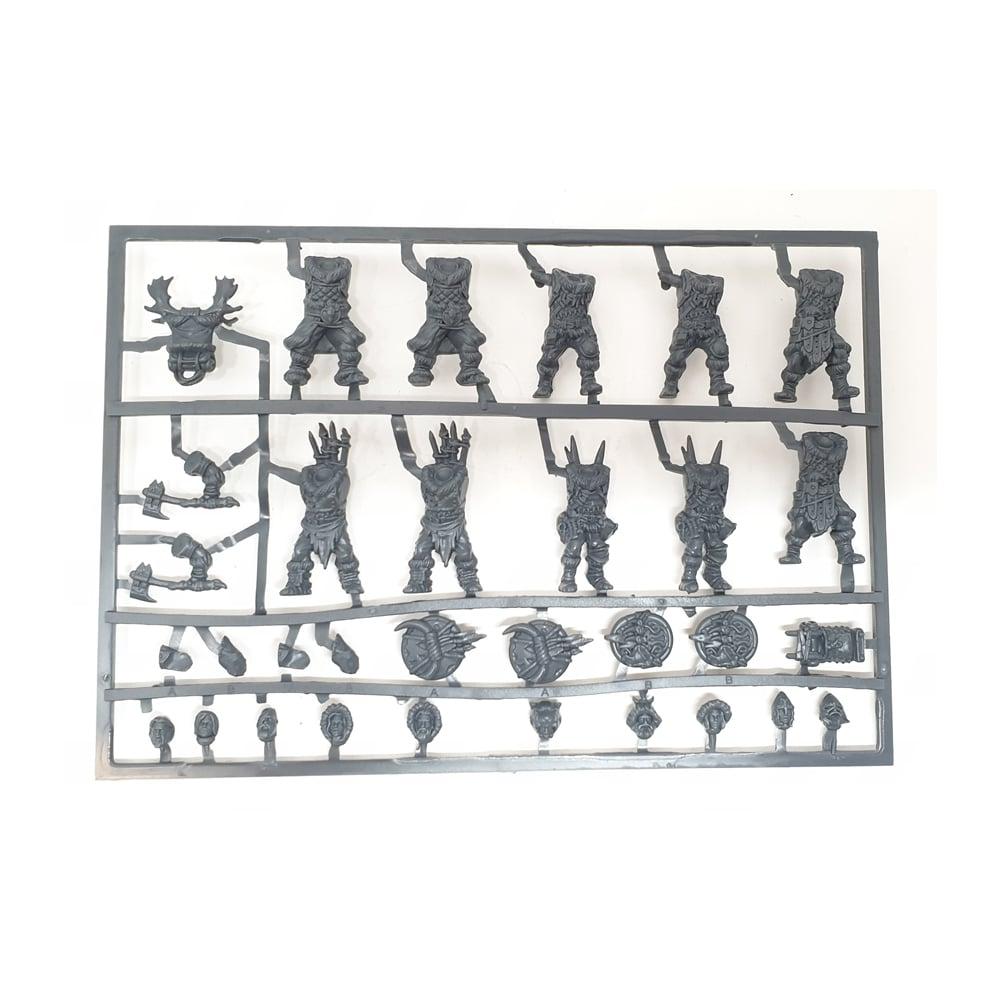 Northern Alliance Clansmen Plastic Frame (Mantic Direct)