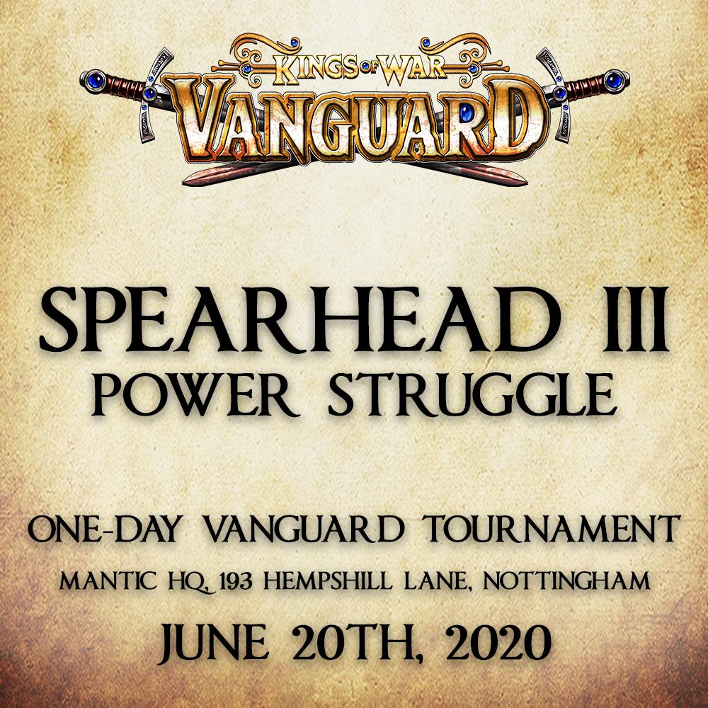 SPEARHEAD III VANGUARD TOURNAMENT