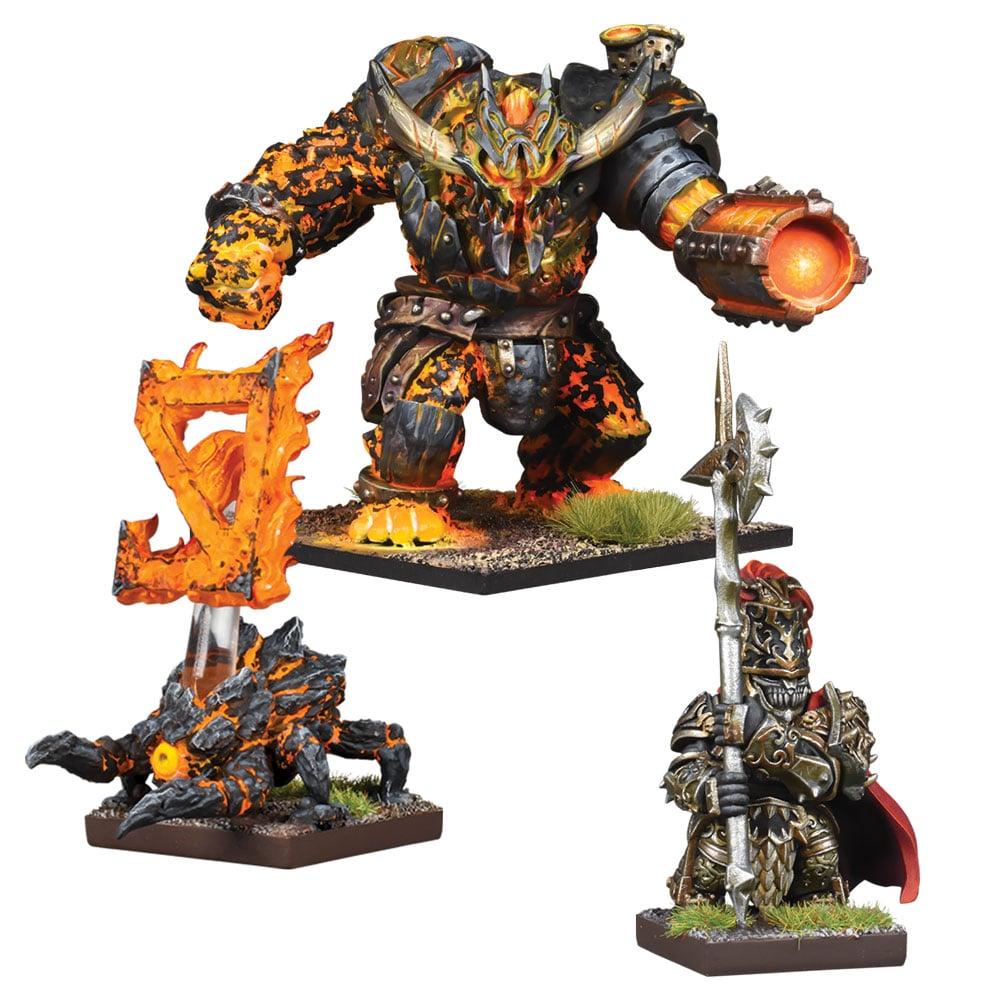 Abyssal Dwarf Warband Booster