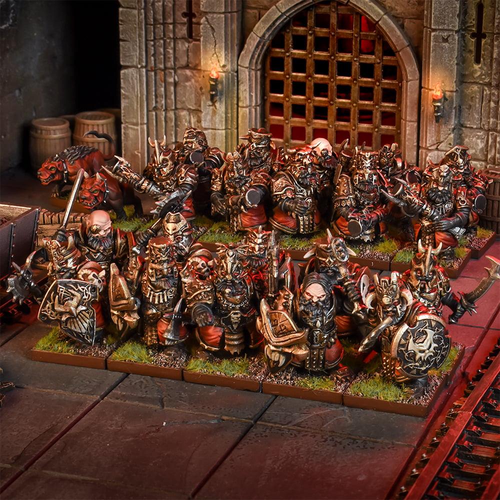 Abyssal Dwarf Blacksouls Regiment