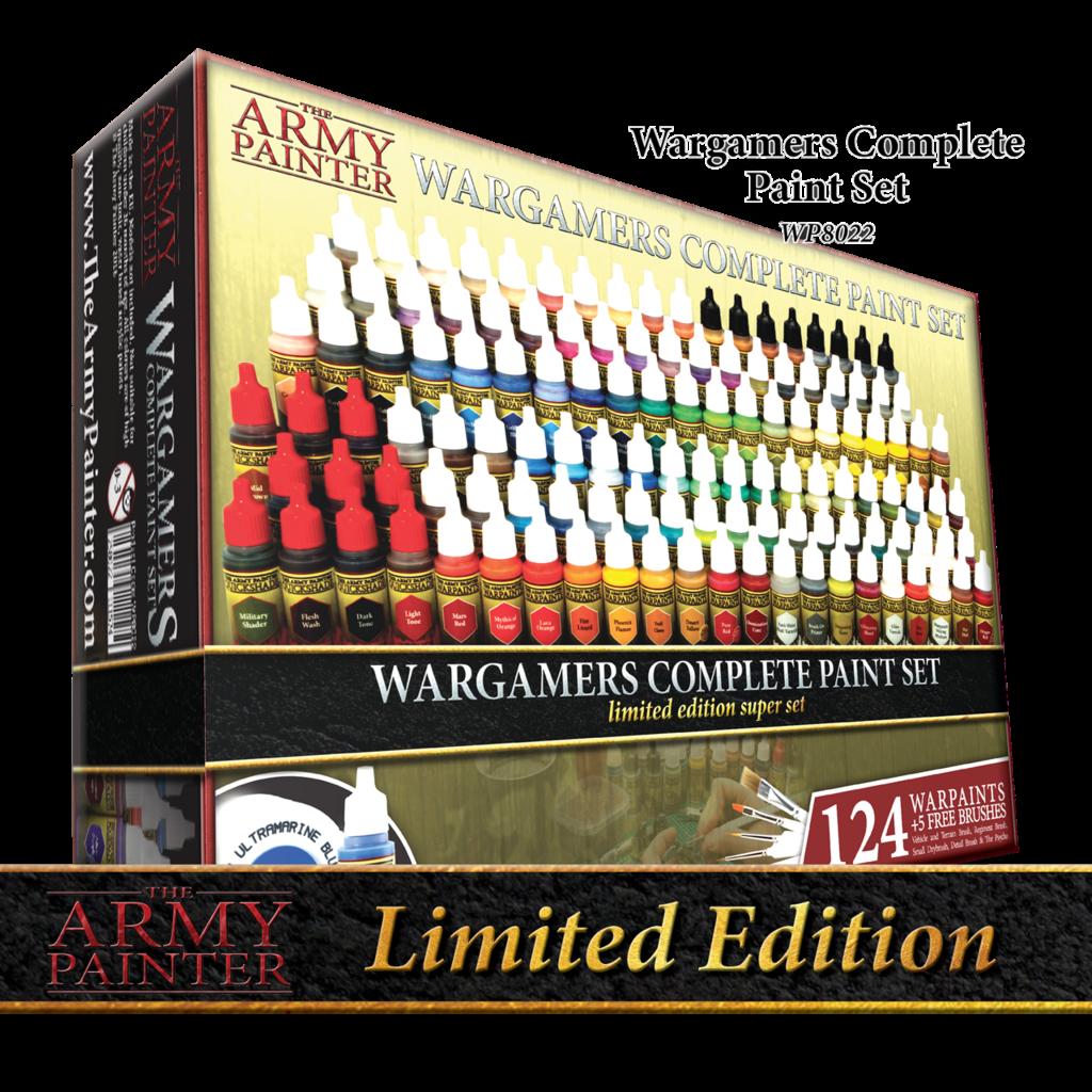 Army Painter Complete Warpaints Set – Ltd. ed.