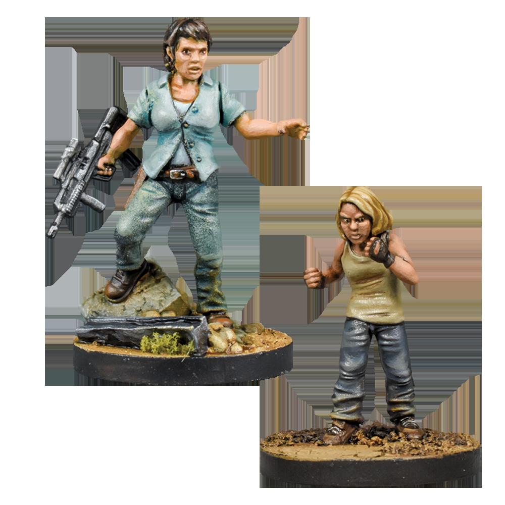 Walking Dead Maggie, Hilltop Leader Booster