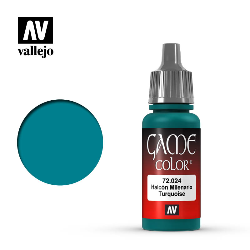 Vallejo Game Color Turquoise