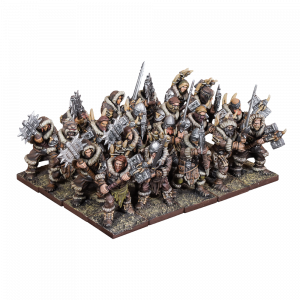Northern Alliance Clansmen Two-Handed Weapons Upgrade (Mantic Direct)