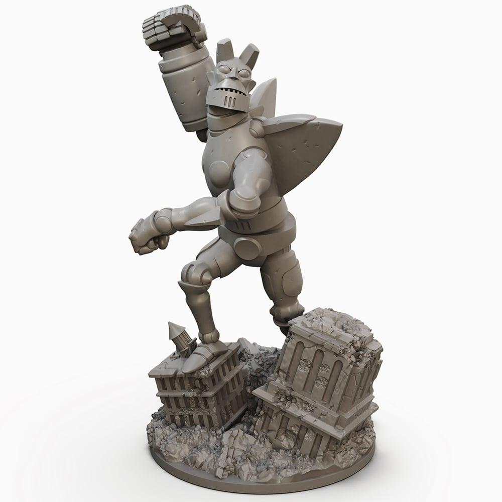 Giant Robot Hellboy!