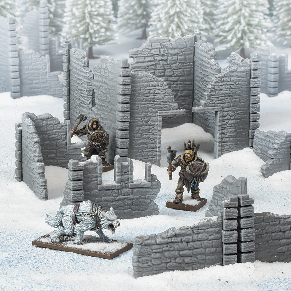 Terraincrate: Ruined Village