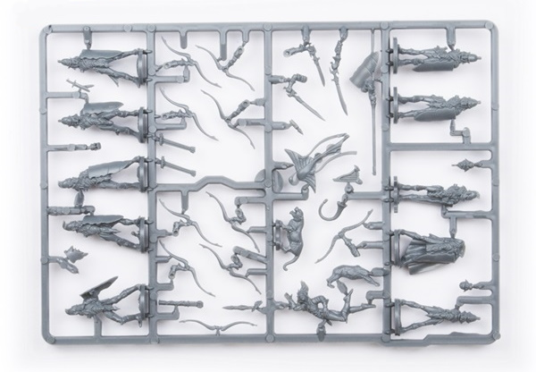 Elf Bowmen Command Sprue – 10 Figures (Mantic Direct)