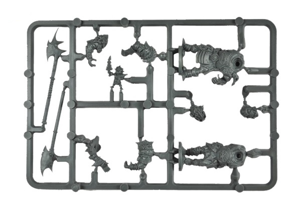 Orc Greatax Troop Plastic Frame (Mantic Direct)