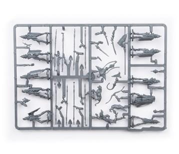 Elves Spearmen Command Troop Plastic Frame (Mantic Direct)