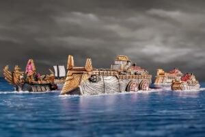 Armada Dwarf Dreadnought Colour