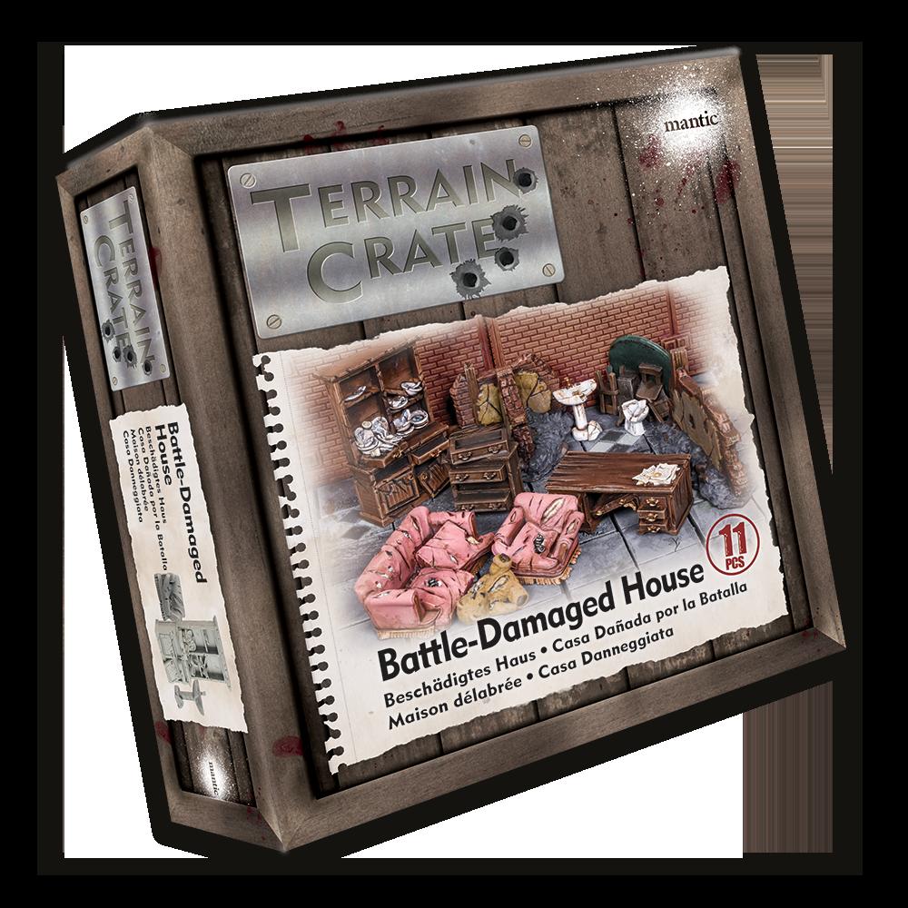 TerrainCrate: Battle-Damaged House