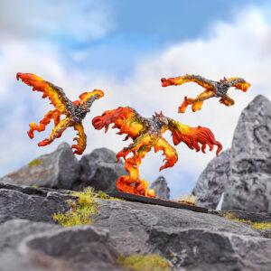 Salamander Scorchwing Regiment Colour Shot