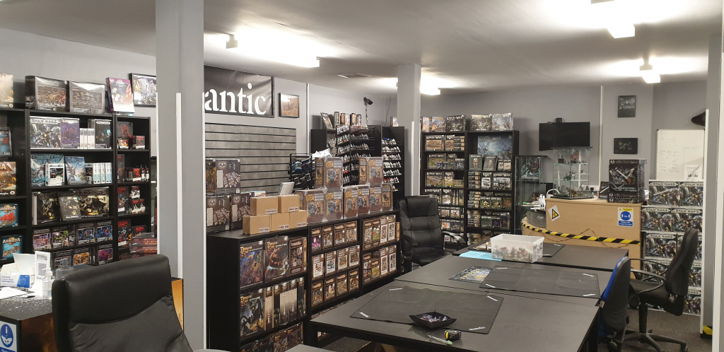 Gaming Hall Grand Re-opening!