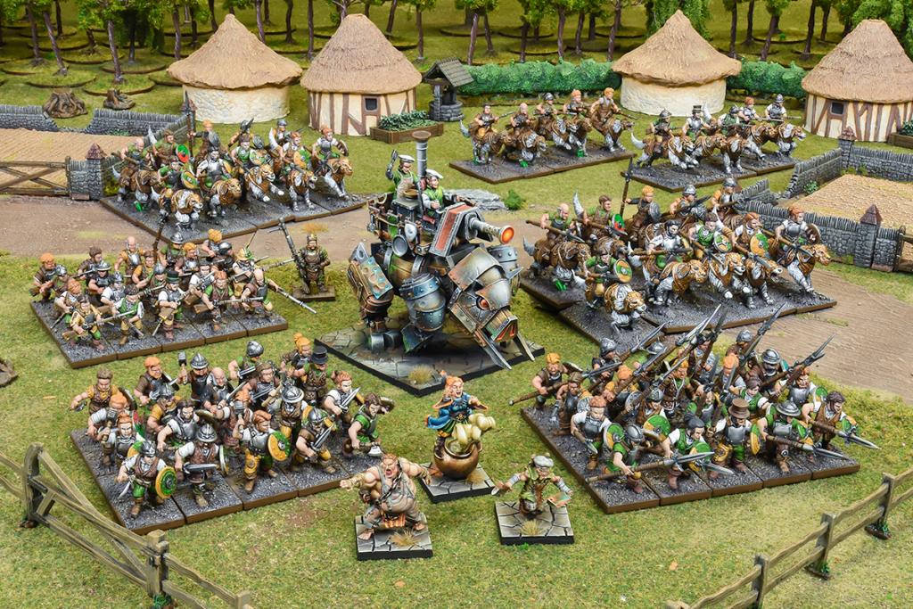 Halfling Mega Army
