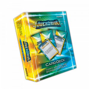 OverDrive Coach Abilities and Sponsorship Deals Card deck