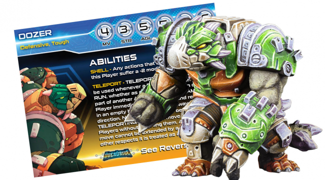 OverDrive Dozer and Card