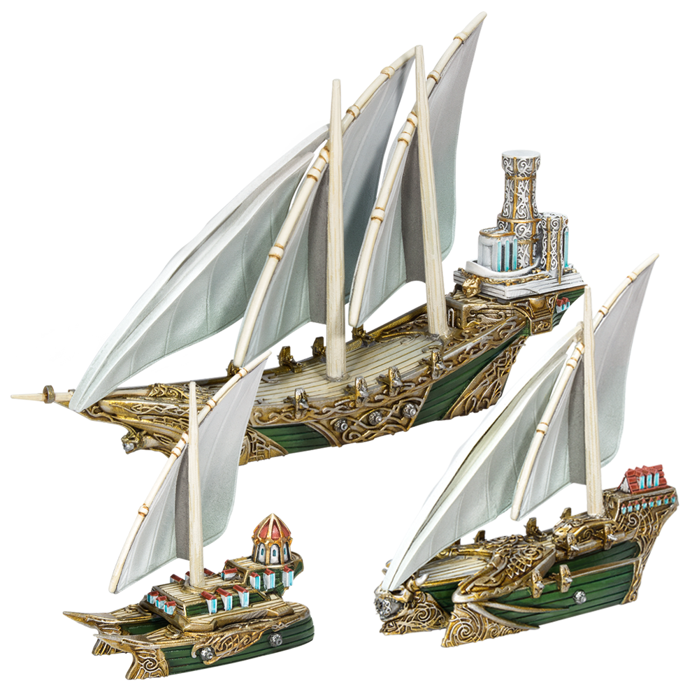 Elf Starter Fleet
