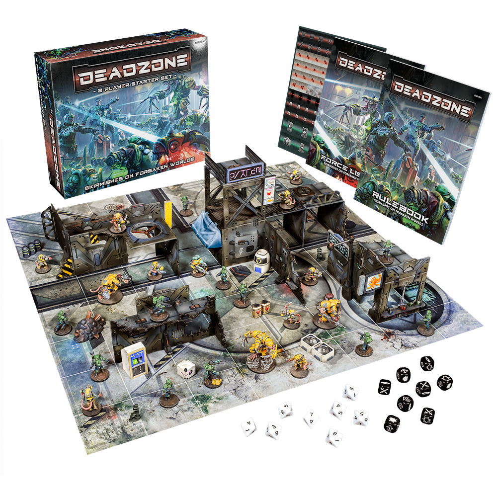 Deadzone 3rd Edition Two Player Starter Set