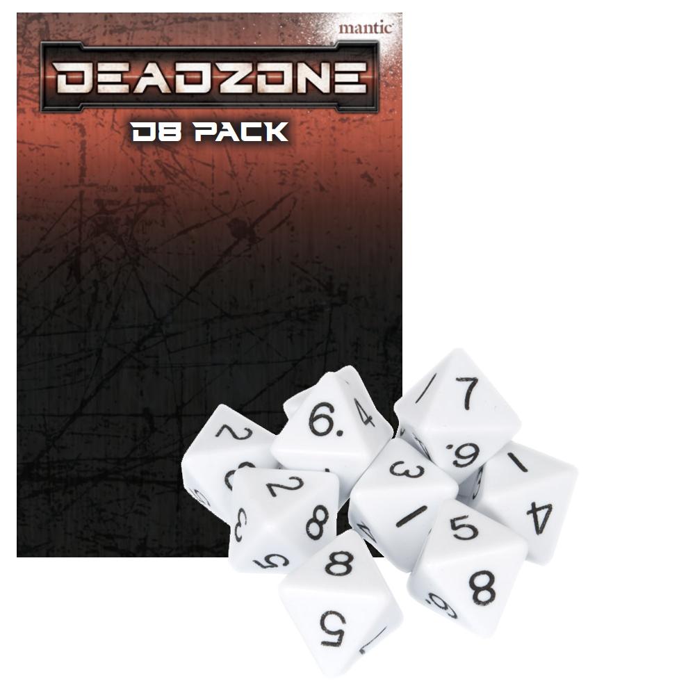 Deadzone 3rd Edition d8 dice set