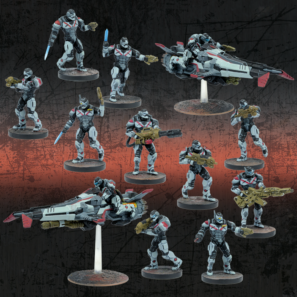 Deadzone Enforcer Strike Protocol Starter