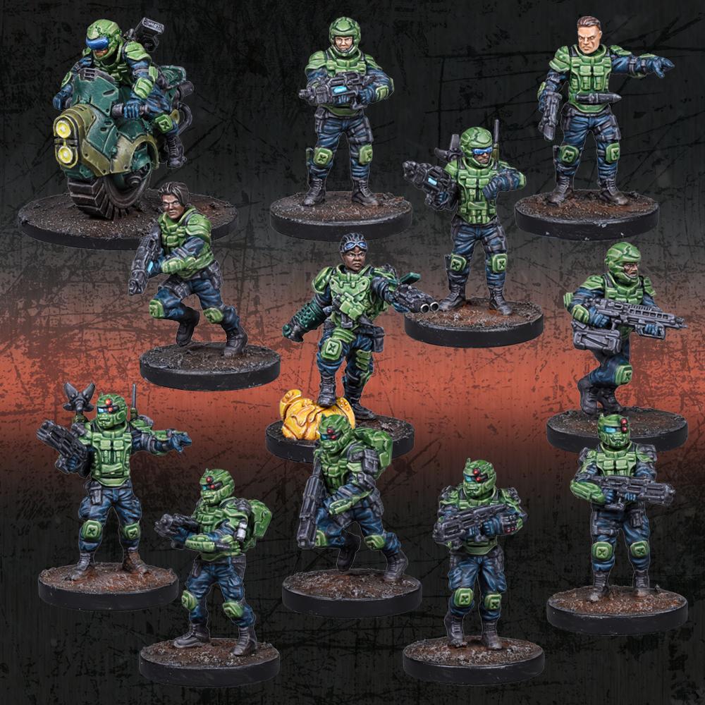 Deadzone GCPS Recon Squad Starter