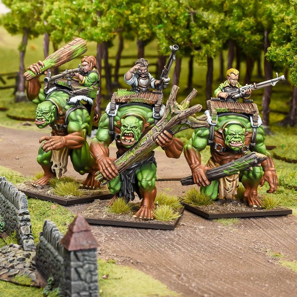 Forest Troll Gunners Regiment