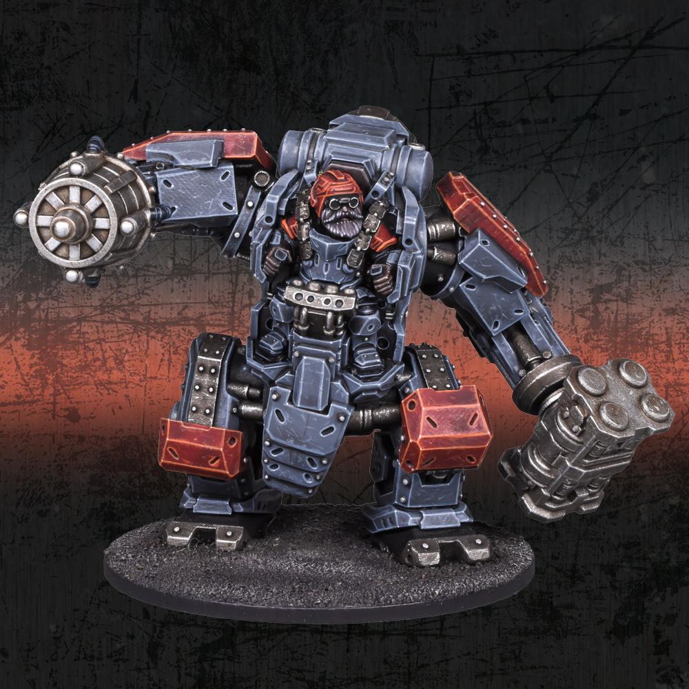 Deadzone Forge Father Artificer Juggernaut