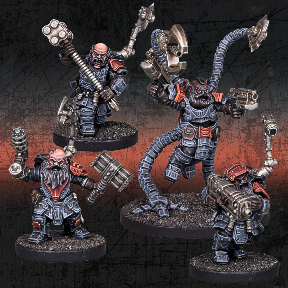 Deadzone Forge Father Artificers Booster